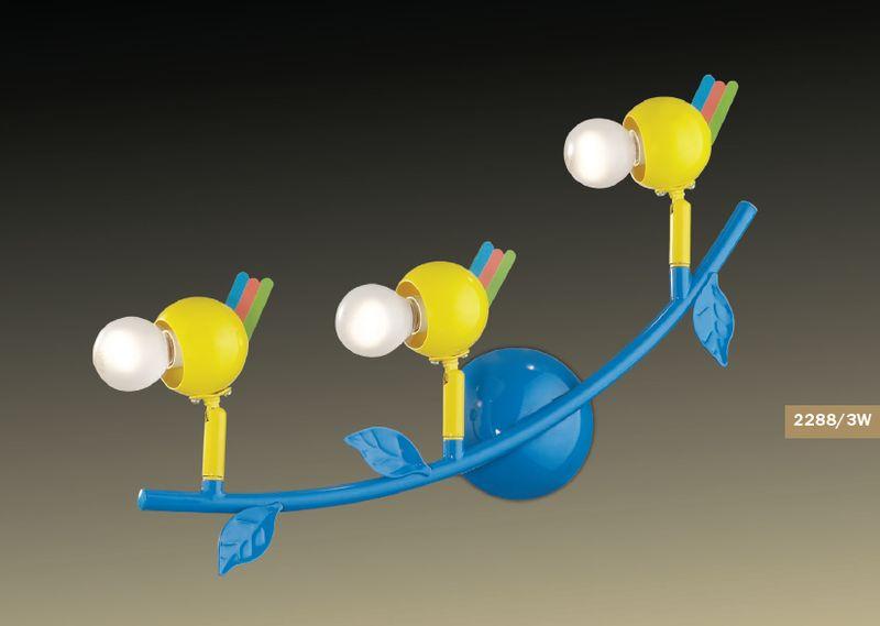 Споты в детскую Odeon Light Bird 2288/3W