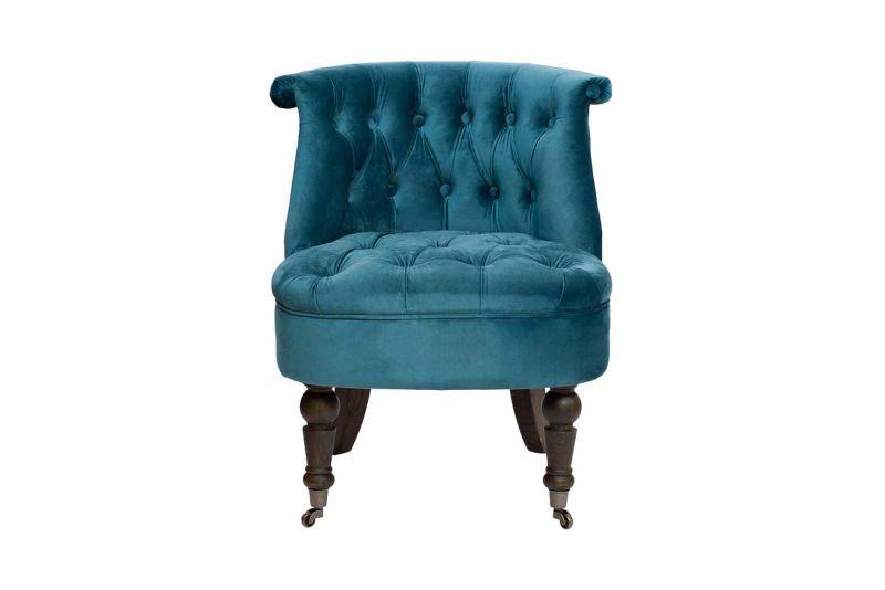 Кресло велюровое Garda Decor HD2202868-BBD