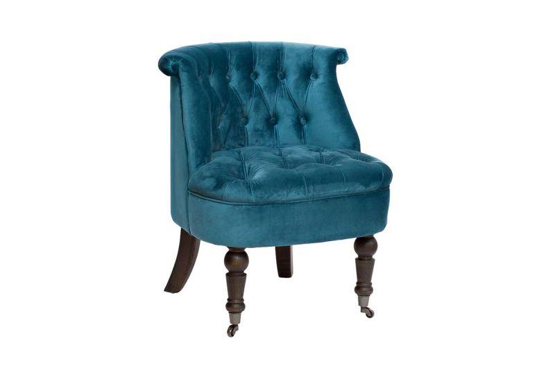 Кресло велюровое Garda Decor HD2202868-BBD. Фото №1