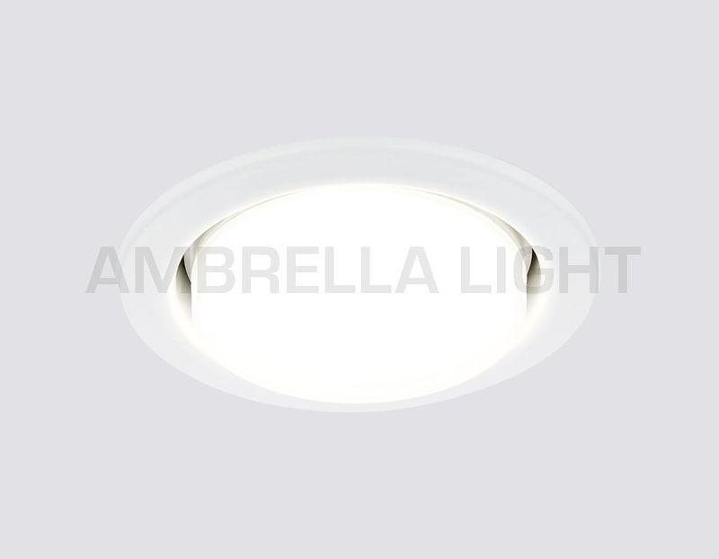 Встраиваемый светильник GX53 CLASSIC G101 W