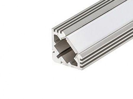 Алюминиевый Профиль ARLIGHT PDS45-T-3000 ANOD 2977990189610