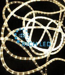 Светодиодный дюралайт Rich LED3-проводной RL-DL-3W-100-240-WW