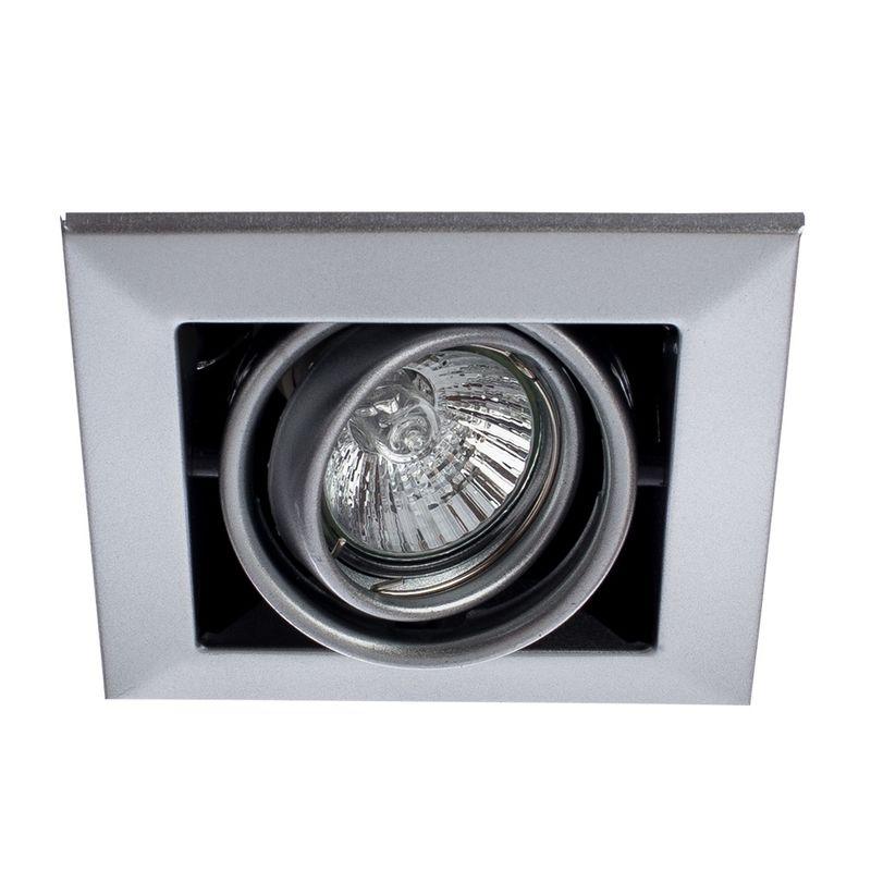 Встраиваемый светильник поворотный Arte Lamp Technika A5941PL-1SI