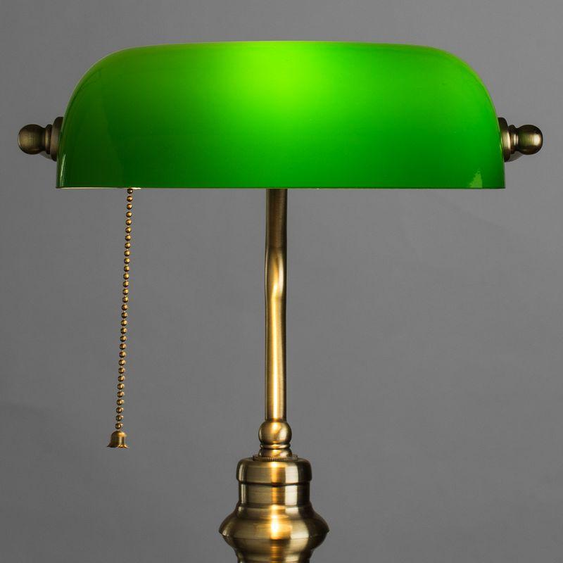 Настольная лампа Arte Lamp BANKER A2492LT-1AB. Фото №2