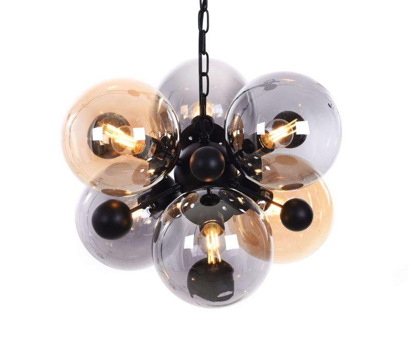 Подвесной светильник Lumina Deco Afrodis LDP 1138-6 AMB+GY