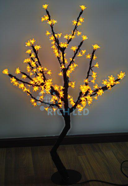 Светодиодное дерево Сакура 110 RL-TRC24-110*75-200-Y