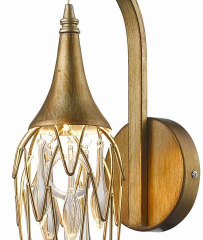 Подвесной светильник Delight Collection Goddess Tears P68009M-3 gold. Фото №1
