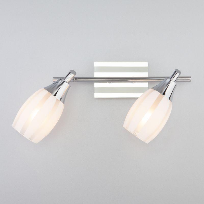 Настенный светильник Eurosvet Meridiane 20129/2 хром