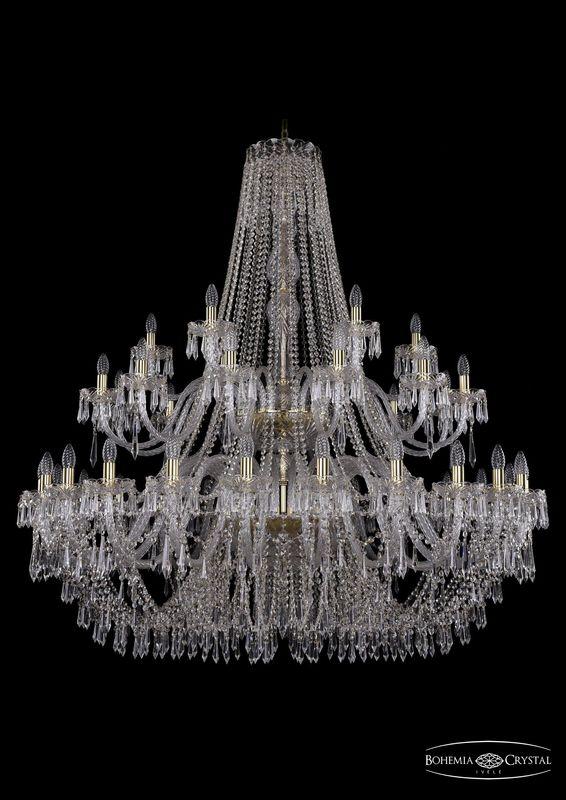 Люстра Bohemia Ivele Crystal 1403/24+12+6/530/2d G