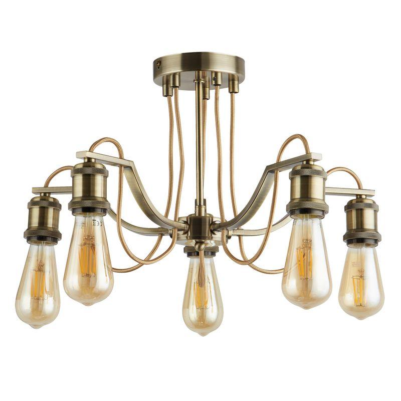 Светильник потолочный Arte Lamp Inedito A2985PL-5AB
