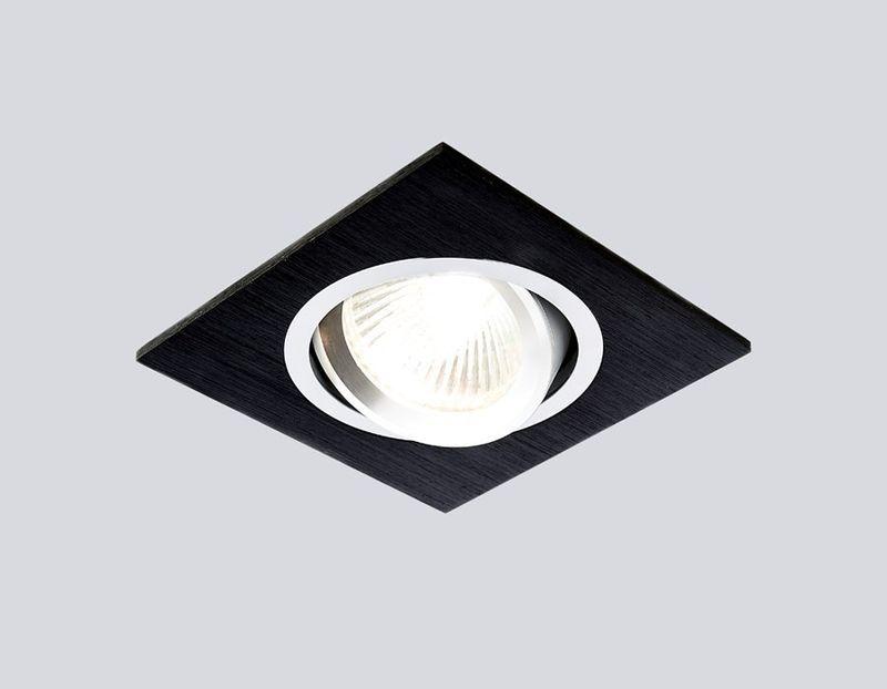 Точечный светильник встраиваемый A601 BK