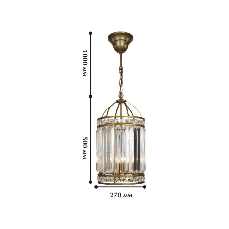 Подвесной светильник Ancient 1085-3P. Фото №2