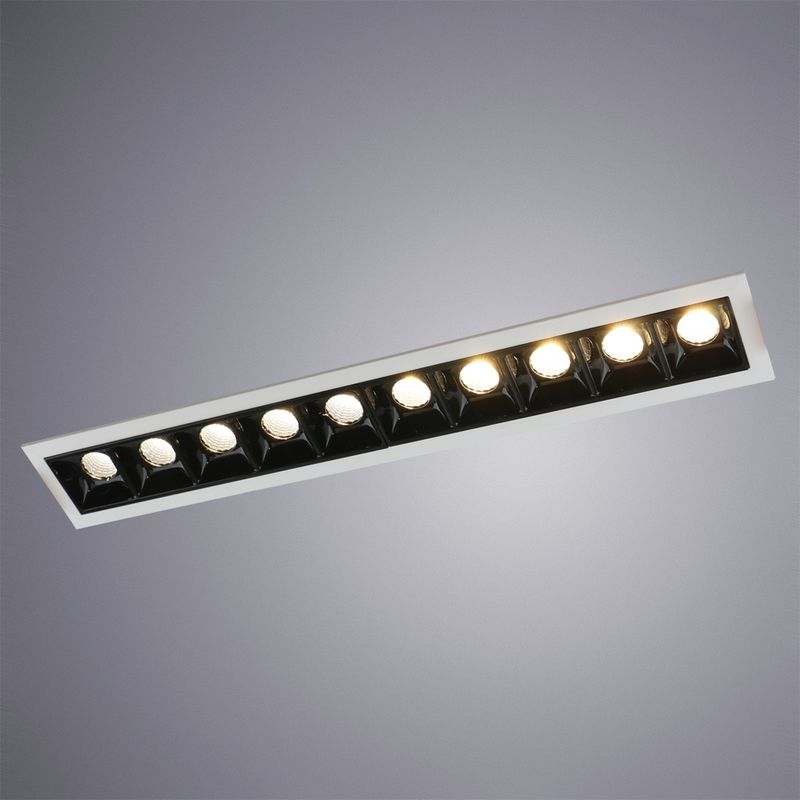 Встраиваемый светильник Arte Lamp Grill A3153PL-10BK