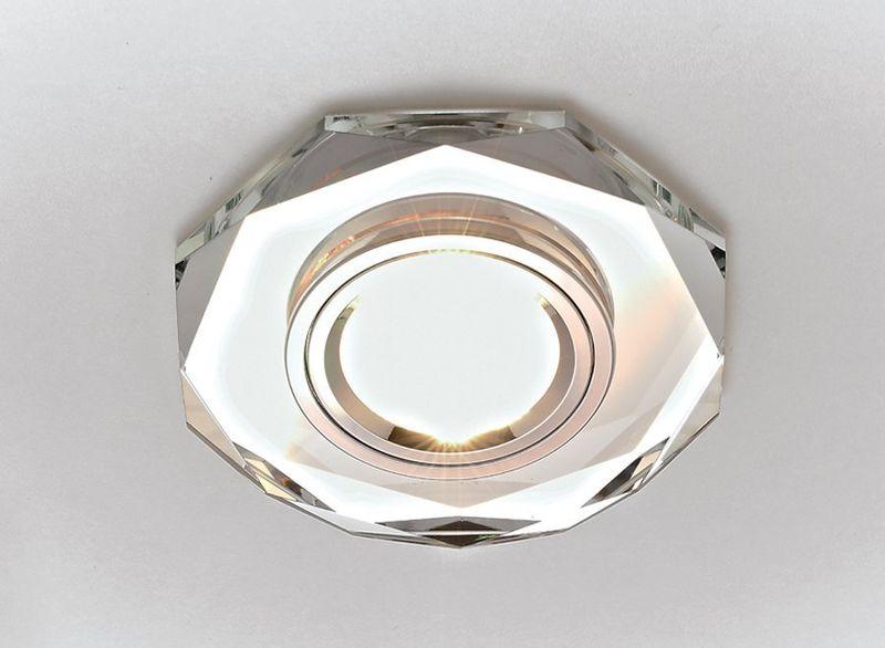 Точечный светильник зеркальный Классика 8020 CL
