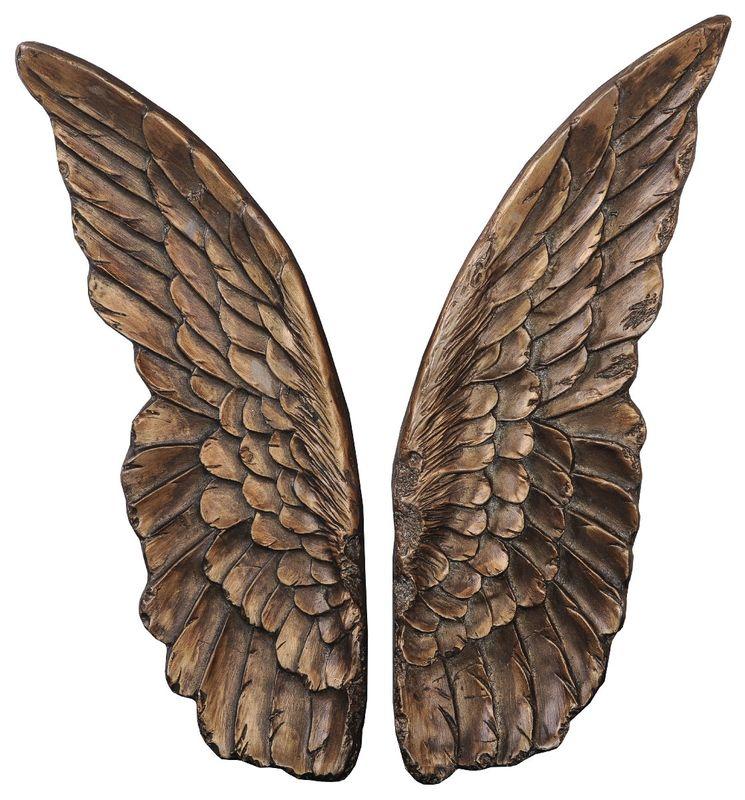 Панно Крылышки (бронза) 35506G