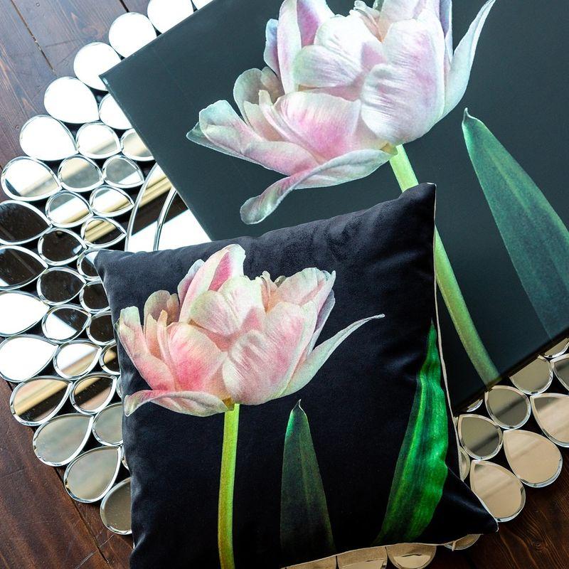 Интерьерная подушка Pearled Rose 4112121. Фото №1