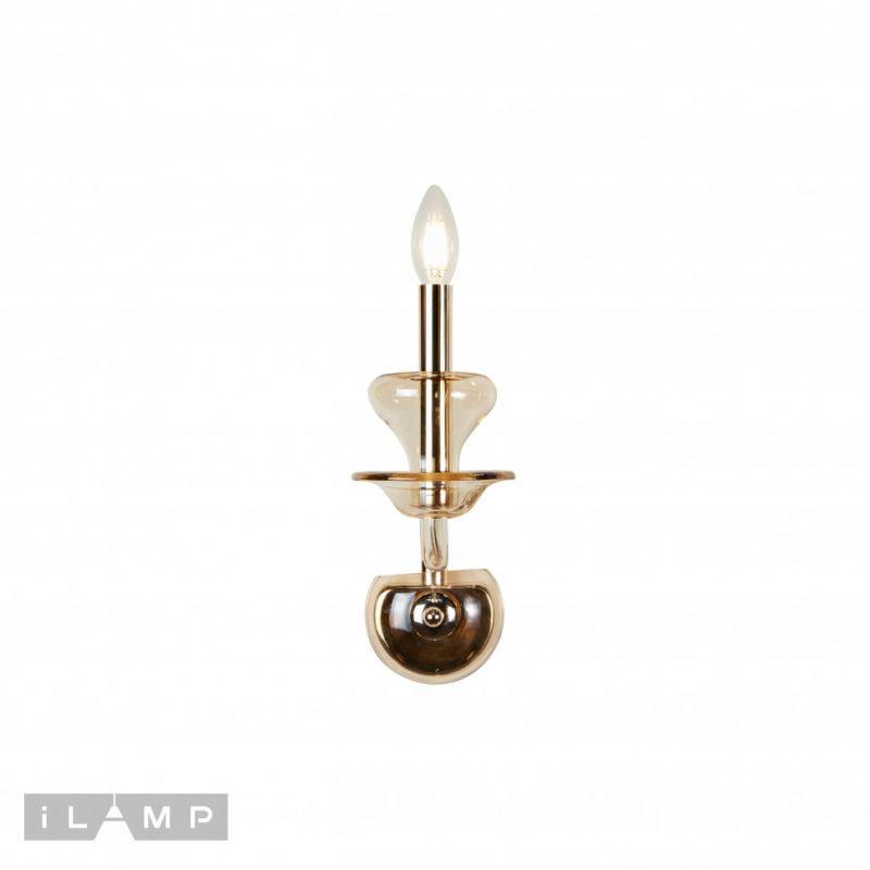 Бра iLAMP Mercury W9448-1 Gold
