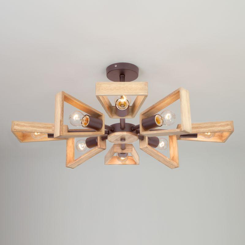 Потолочный светильник Eurosvet Klark 70056/8 кофе