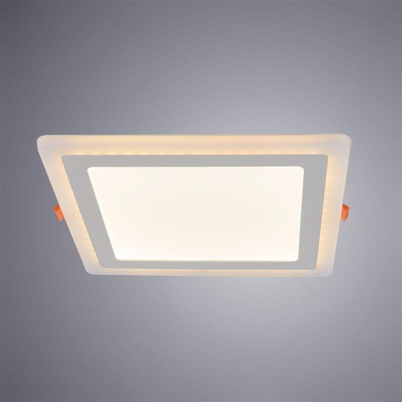 Встраиваемый светильник Arte Lamp Vega A7524PL-2WH