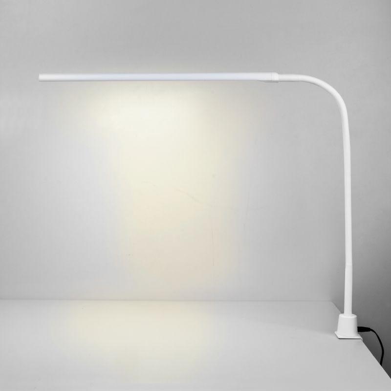 Светодиодная настольная лампа на струбцине Eurosvet Flex 80429/1 белый