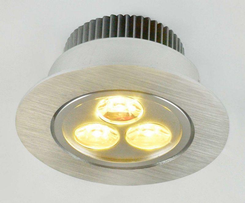 Встраиваемый светильник Arte Lamp Downlights led A5903PL-1SS