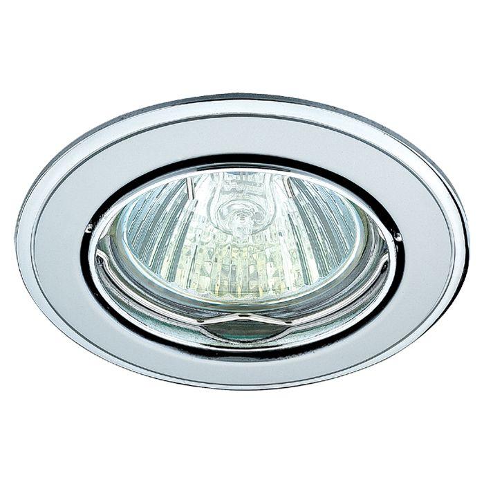 Точечный встраиваемый светильник NovoTech crown 369104
