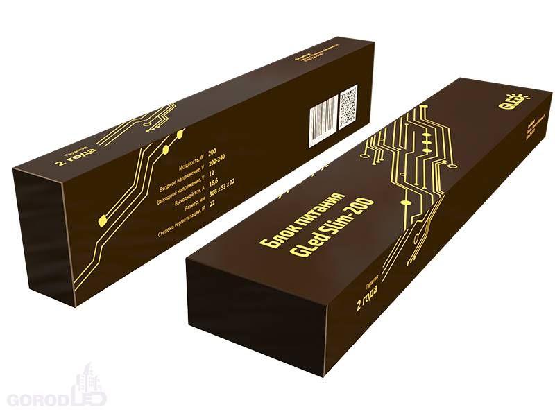 Блок питания Gled Slim - 200 (24) 4602015600037. Фото №3