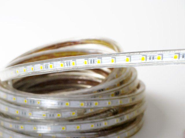 Светодиодная лента 220 V LP IP68 5050/60 LED 50 м 4601070425043