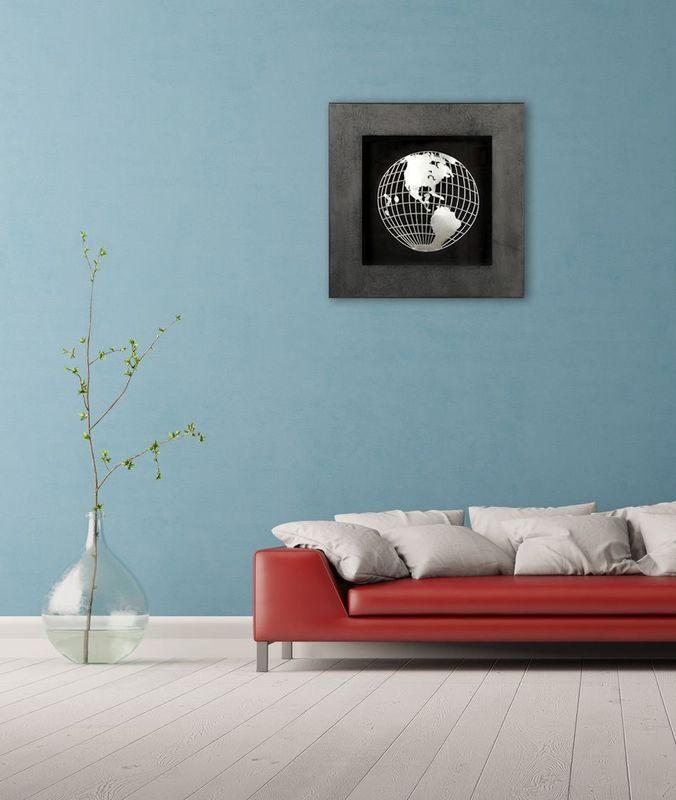 Панно Глобус-1 17347A. Фото №2