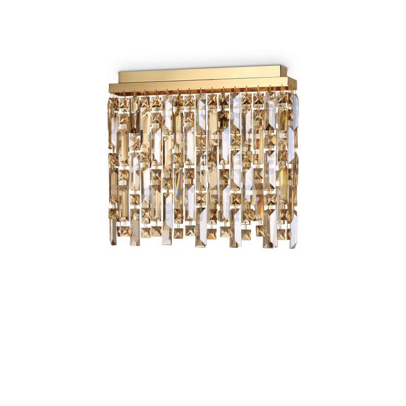 Светильник потолочный Ideal Lux ELISIR PL4 OTTONE