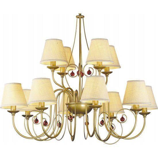 Светильник подвесной Arte Lamp Decorative classic u A3007LM-12BZ