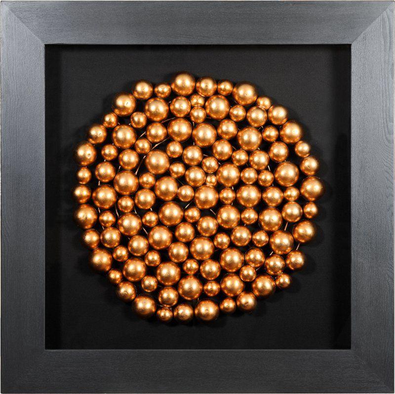 Панно Медные шары (круг) 30234B