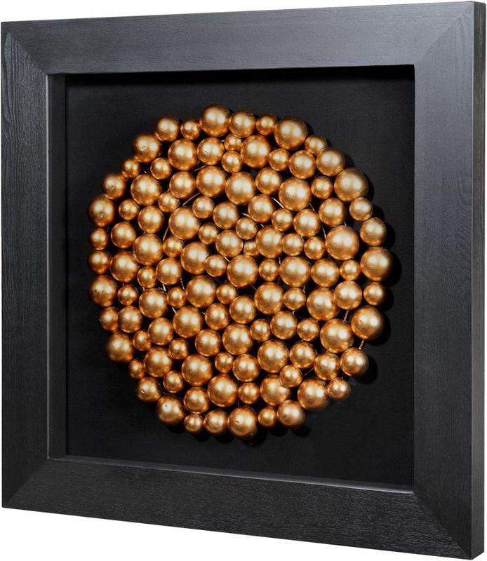 Панно Медные шары (круг) 30234B. Фото №1
