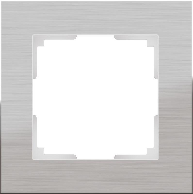 Рамкана1пост(алюминий) W0011706