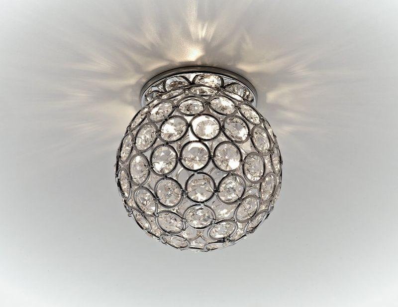 Точечный светильник с узором D1000 CH