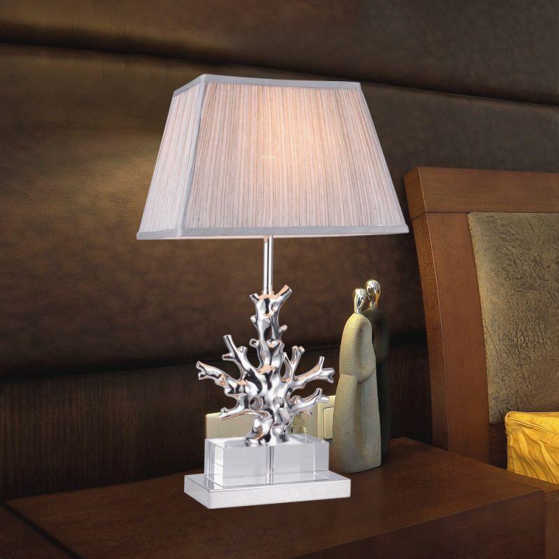 Настольная лампа Delight Collection Table Lamp BT-1004 nickel. Фото №1