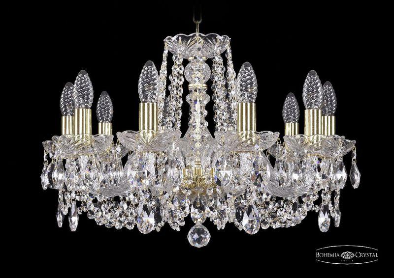 Подвесная люстра Bohemia Ivele Crystal 1402/10/195 G