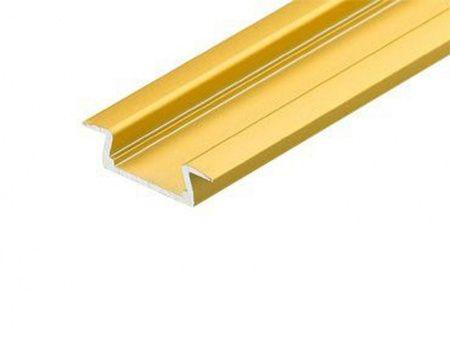 Алюминиевый Профиль ARLIGHT MIC-F-2000 ANOD Gold Deep 2977990176498