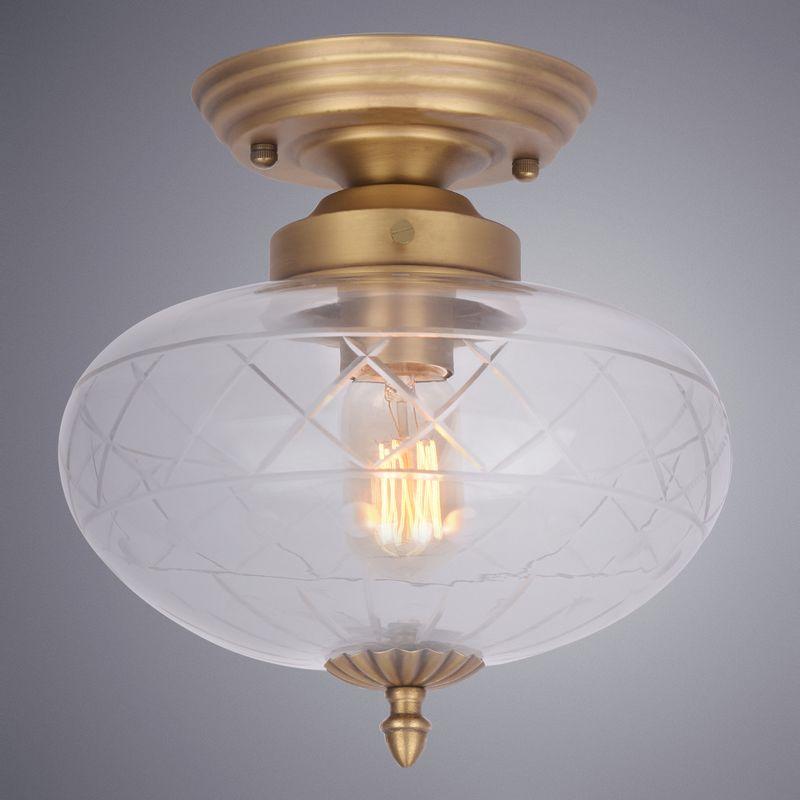 Светильник потолочный Arte Lamp Faberge A2303PL-1SG