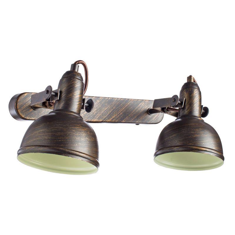 Светильник настенный поворотный Arte Lamp Martin A5213AP-2BR