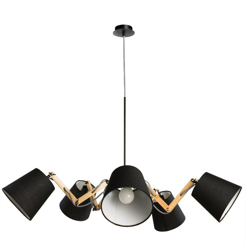 Светильник подвесной Arte Lamp Pinoccio A5700LM-5BK
