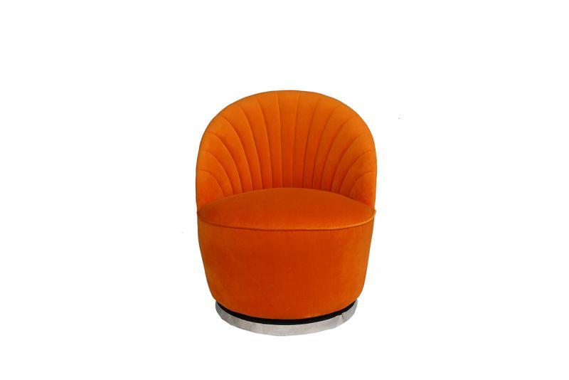 Кресло вращающееся Garda Decor 48MY-2632 OR