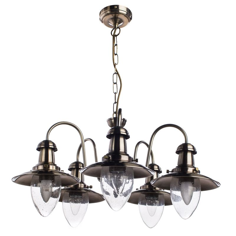 Светильник подвесной Arte Lamp fisherman A5518LM-5AB