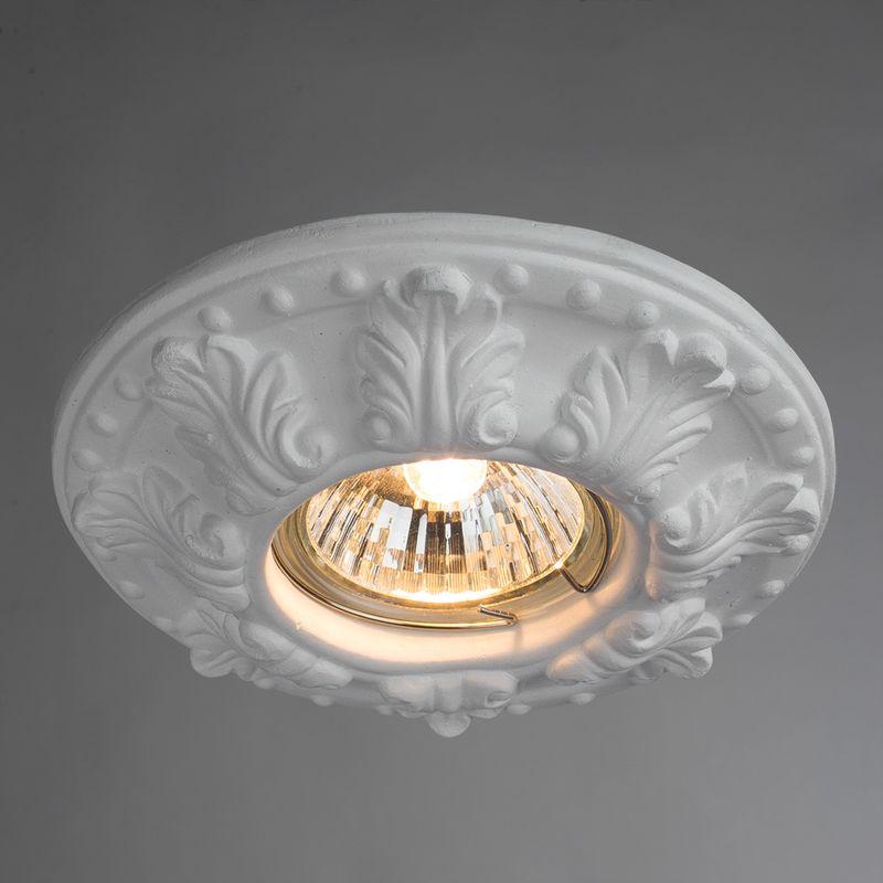 Точечный светильник Arte Lamp CRATERE A5071PL-1WH. Фото №1