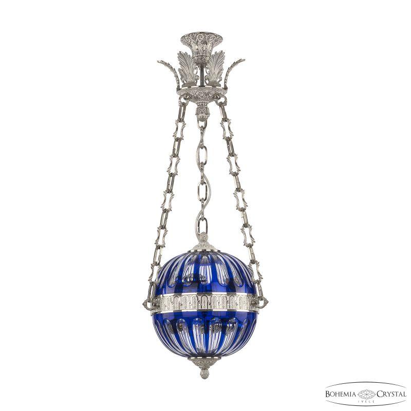 Подвесной светильник Bohemia Ivele Crystal 71000P/25 NW Clear-Blue/H-1H Y8