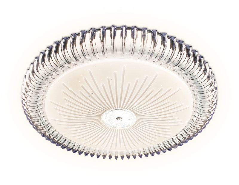 Потолочный светодиодный светильник с пультом Ambrella ORBITAL Crystal FF95