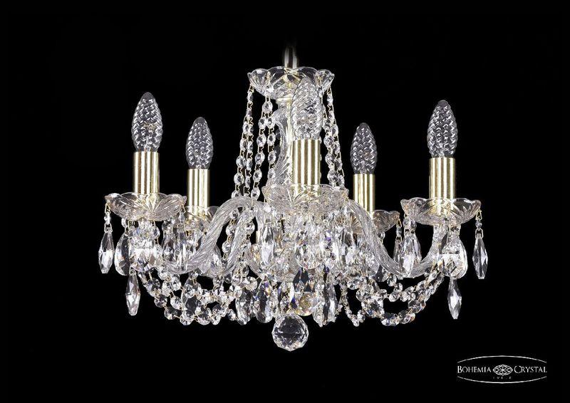 Подвесная люстра Bohemia Ivele Crystal 1402/5/141 G