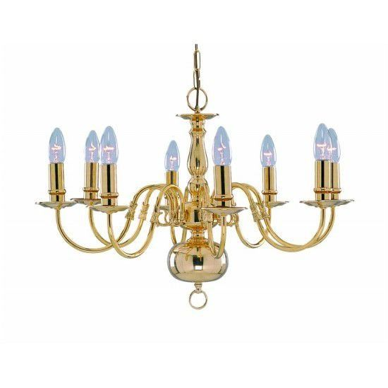 Светильник подвесной Arte Lamp Decorative classic A1019LM-8PB