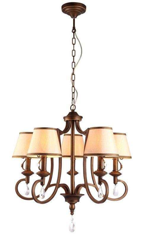 Светильник подвесной Arte Lamp Castello A6016LM-5BG
