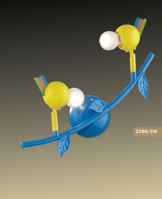 Споты в детскую Odeon Light Bird 2288/2W